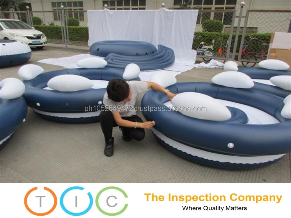 3rd Party Inspection service Myanmar quality control Inflatable Spa Pool
