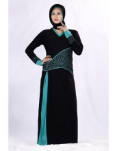 Latest Islamic Kaftan Long Clothing Abaya Burka Dress for womens 2017
