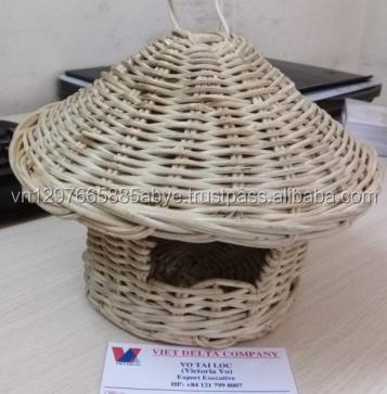 Vietnam Woven Rattan Nest Pet House/ Pet Nest Product/ Bird Supply (Victoria)
