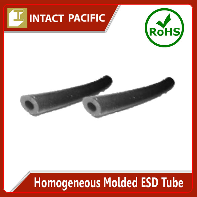 Homogeneous Molded ESD Tube High quality for Expert use in Semiconductor Production Black Silicone / NBR Rubber