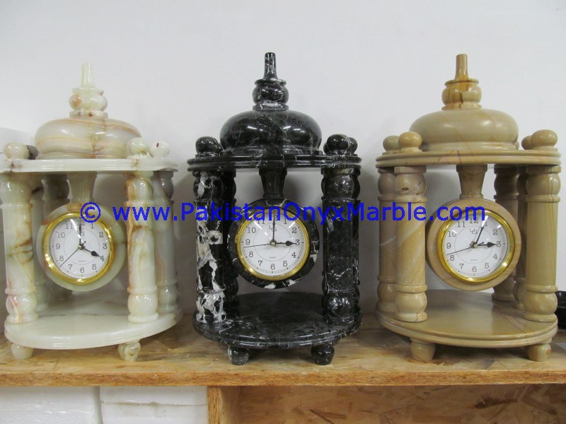 Onyx Table Clock manufacture wholesaler and exporter from Pakistan