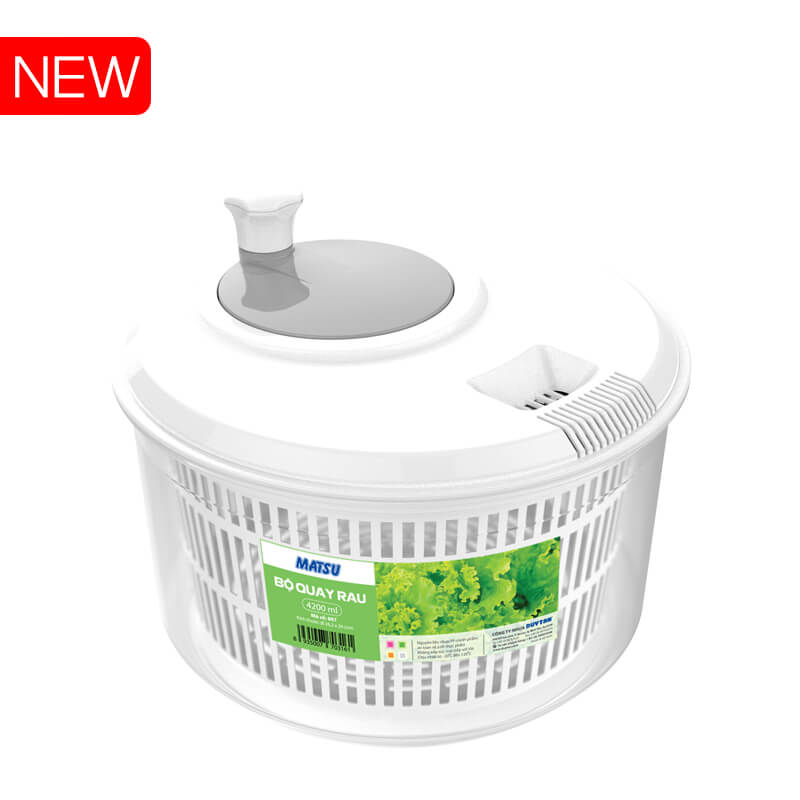Large Salad Spinner No.807 Duy Tan Plastics export to Korea Japan