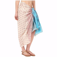sarong beach wear pareo customized printed