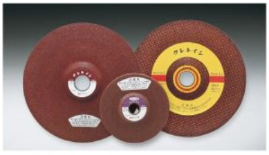 Abrasive rail cutting wheel for structural steel