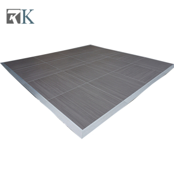 aluminium alloy dance floor no slip flooring for special event