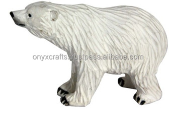 Pola Bear Marble Figurines in Low Price