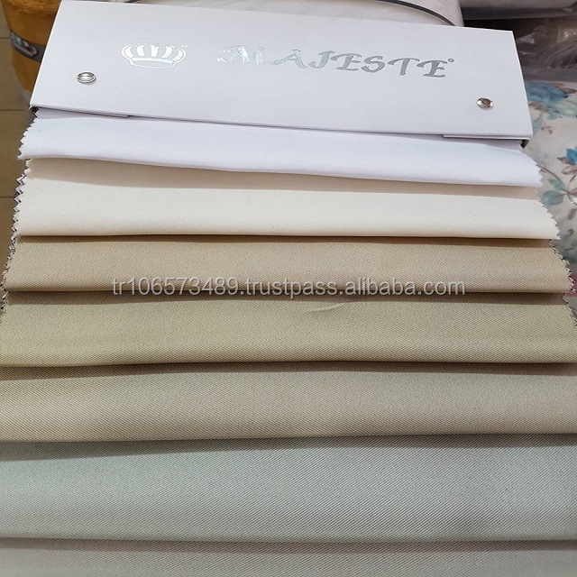 100% Polyester Flame Retardant Blind Fabrics For Curtains, Blackouts, Fire Proof