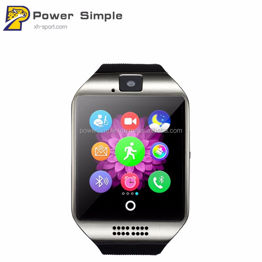 2017 New Fashion Popular Factory Price Wifi Q18 Smart Watch Bluetooth Watch With Sleep Monitor