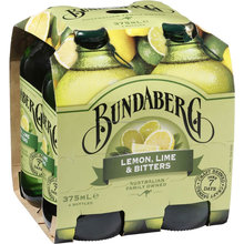 Bundaberg Lemon Lime & Bitters 4x375ml brewed drinks