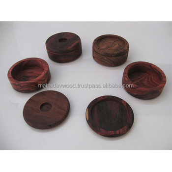 Nominal Price Wholesale Wood Shaving Soap Bowl In Natural Wood