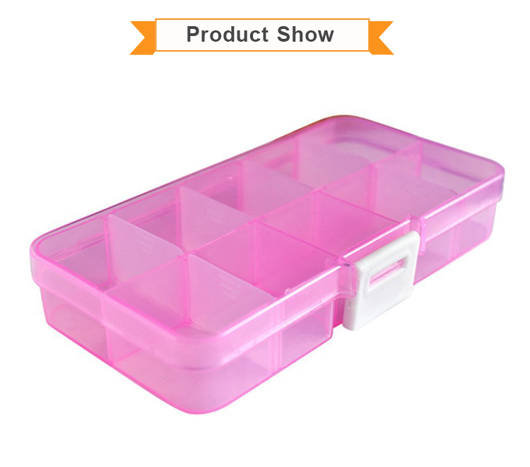 Wholesale Home Ornaments Plastic PP Storage Box