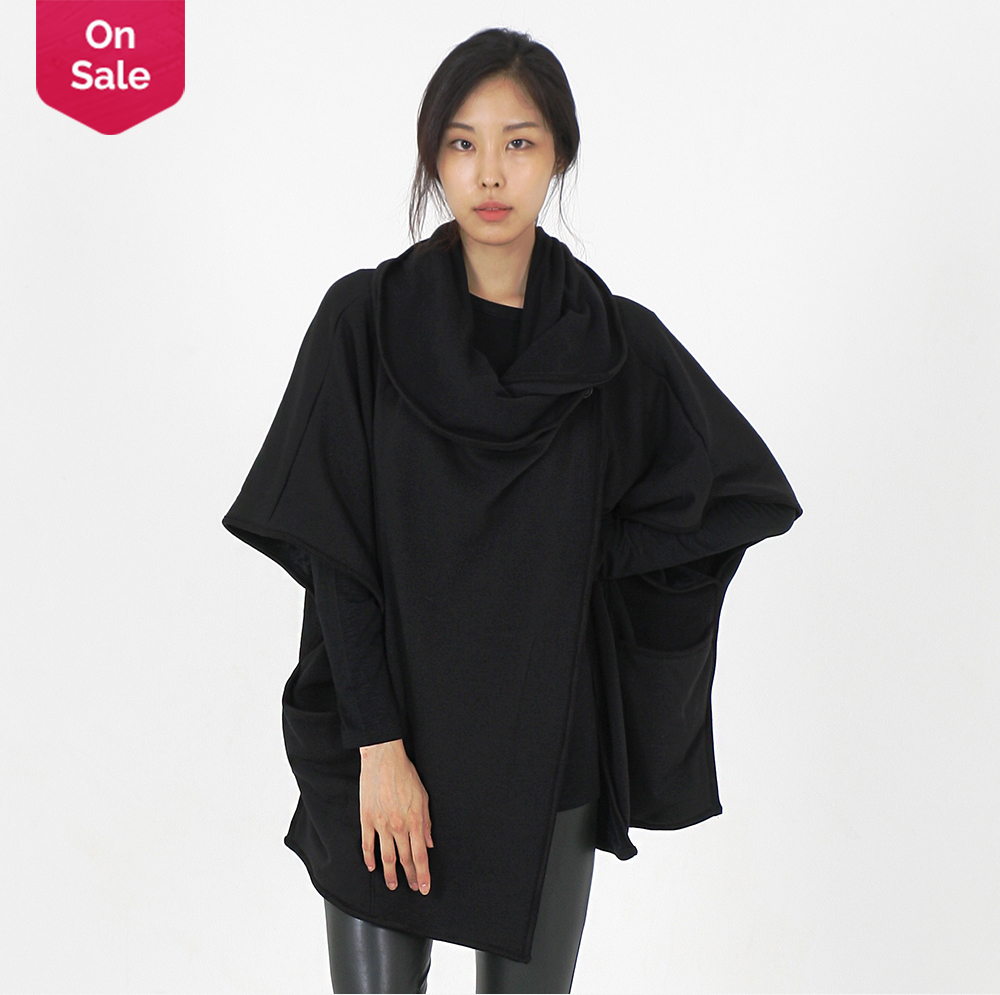 New Products Simply thick warm mink Autumn Winter Spring Cowl Neck Style Poncho cape cardigan