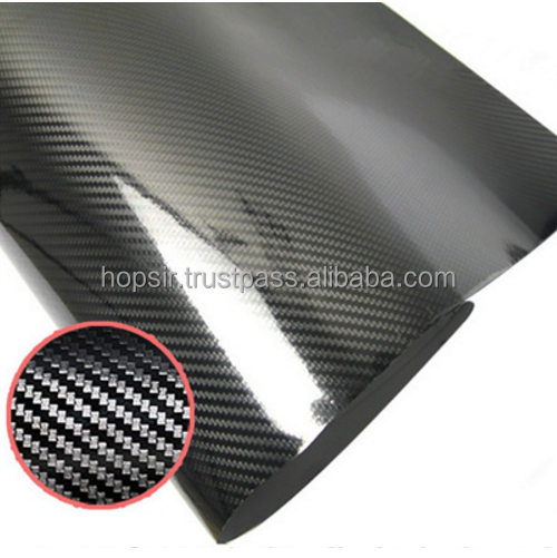 Glossy Car Vinyl Wrap Wholesale 5D Carbon Fiber Car Vinyl Sticker