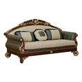 Antique Wooden Living Room Furniture Sofa Set