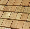 Siberian larch shingles, (roof tiles) eco-friendly, natural and durable wooden roof material
