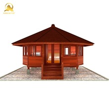 Premium Design Cheap Price Teak Wooden Round Prefab House - Easy Assembly Homes, Hotel