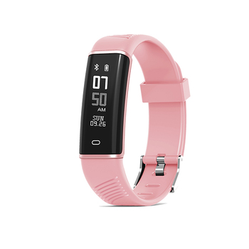 lady smart band with blood pressure dynamic heart rate monitor multi-motion and sedentary alert