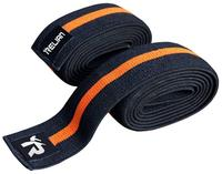 High compression weightlifting knee wraps