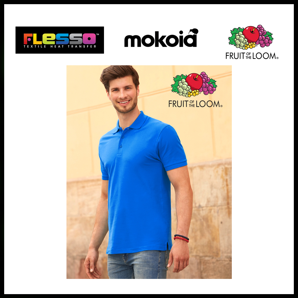 FRUIT OF THE LOOM MEN SHIRT POLO
