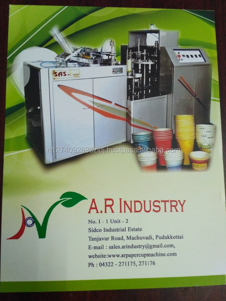 Paper Product Making Machinery automatic paper cup machine cheap price