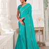 Stone Work Saree Pure Georgette Saree
