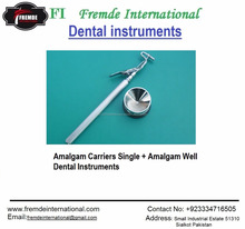 Amalgam Carriers Single + Amalgam Well Dental Instruments Certified By CE