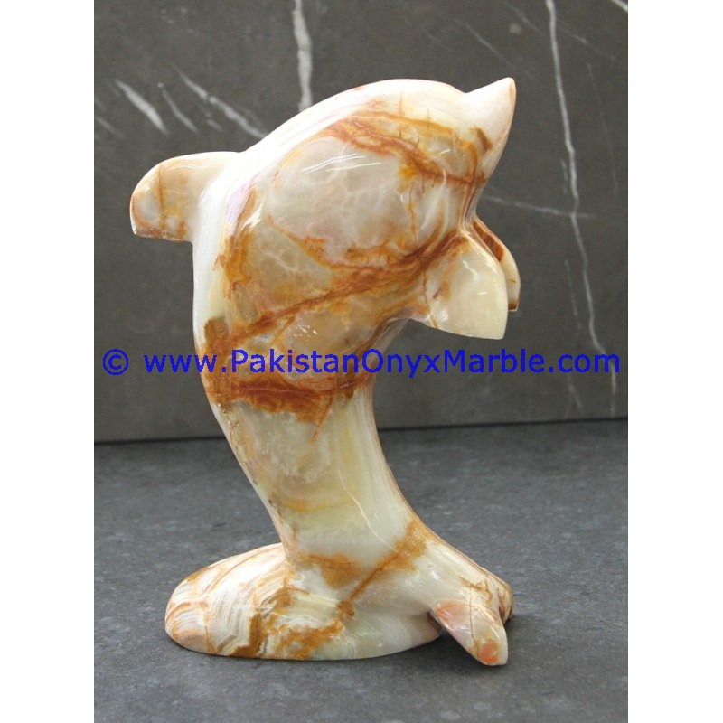 EXPORT QUALITY FACTORY PRICE ONYX DOLPHINS FISH MULTI GREEN