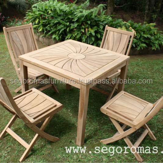 High Quality Teak Outdoor Furniture - Solid Teak Wooden Garden Furniture