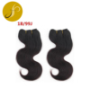 Pearlcoin Cheap 100% Human Hair Solid Color/Two Tone Body Wave Weaving Extensions Wholesale