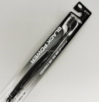 Black (with Bamboo Charcoal Powder) Toothbrush Oral Hygiene