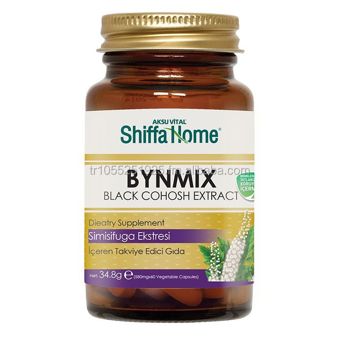 BYN MIX NATURAL HERBAL VITAL HEALTHCARE SUPPLEMENT FOR LADIES SPECIAL DAYS Cohosh Extract in Capsules
