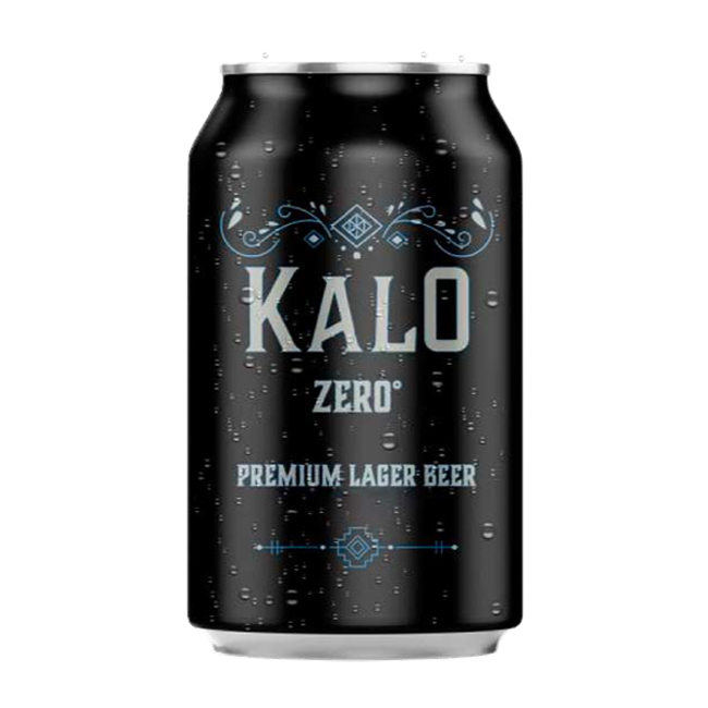 KALO Zero 330ml Non-Alcoholic Beer in Cans from Leading Brand