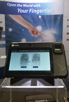 3G android biometric tablet pc with fingerprint reader, face recognition, IRIS scanner - S700