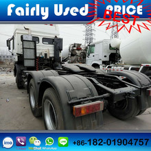 Used right hand drive Shacman F2000 tractor truck of 6x4 truck head used
