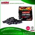 Reputed Trader of Pillow Shape BBQ Charcoal at Superb Price