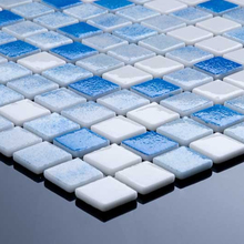 POOL GLASS MOSAIC TILES GOOD QUALITY
