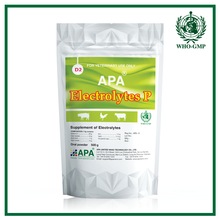 APA Electrolytes P | Hot selling medicine for diarrhea for pig - Immune booster medicines - Vitamin C powder.