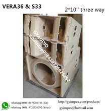 High Power Line Array System VERA36 + S33 cabinet