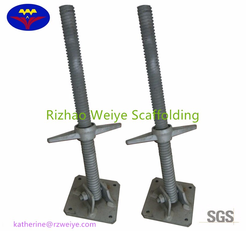Clamp Shoring Jack : Swivel adjustable screw shoring jack for scaffold view
