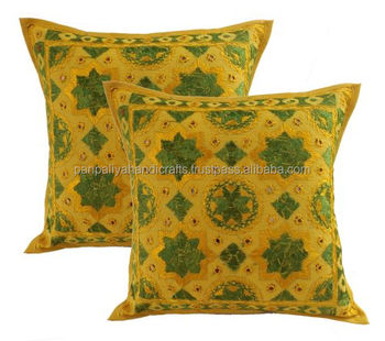 Hot Selling Wholesale Indian Hand Embroidered Cushion Covers