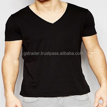 v neck t shirt solid colors t-shirt for mens and boys tshirt in cotton and poly cotton from india