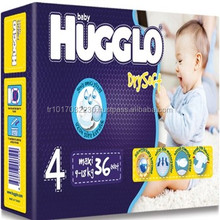 Made in Turkey Hugglo disposable baby diapers