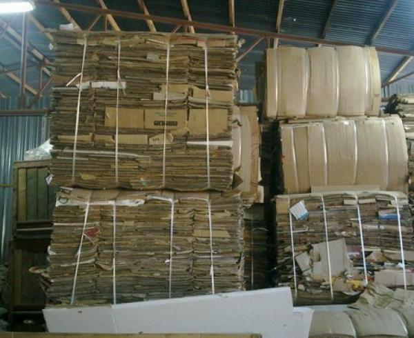 OCC Old corrugated cartons