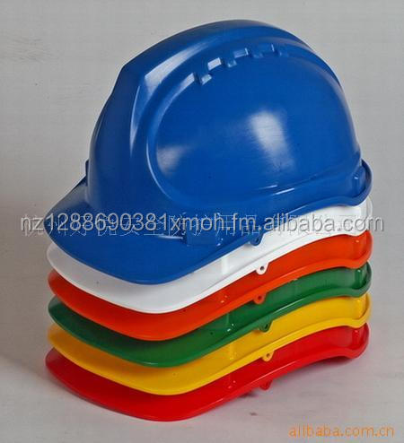 Industrial plastic hard hat