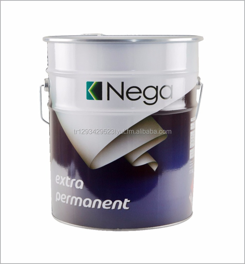 Eco-friendly permanent adhesive for screen printing tables and blankets