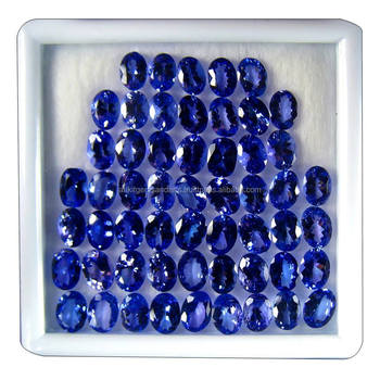 Topmost quality loose oval cut AAA natural tanzanite gemstones
