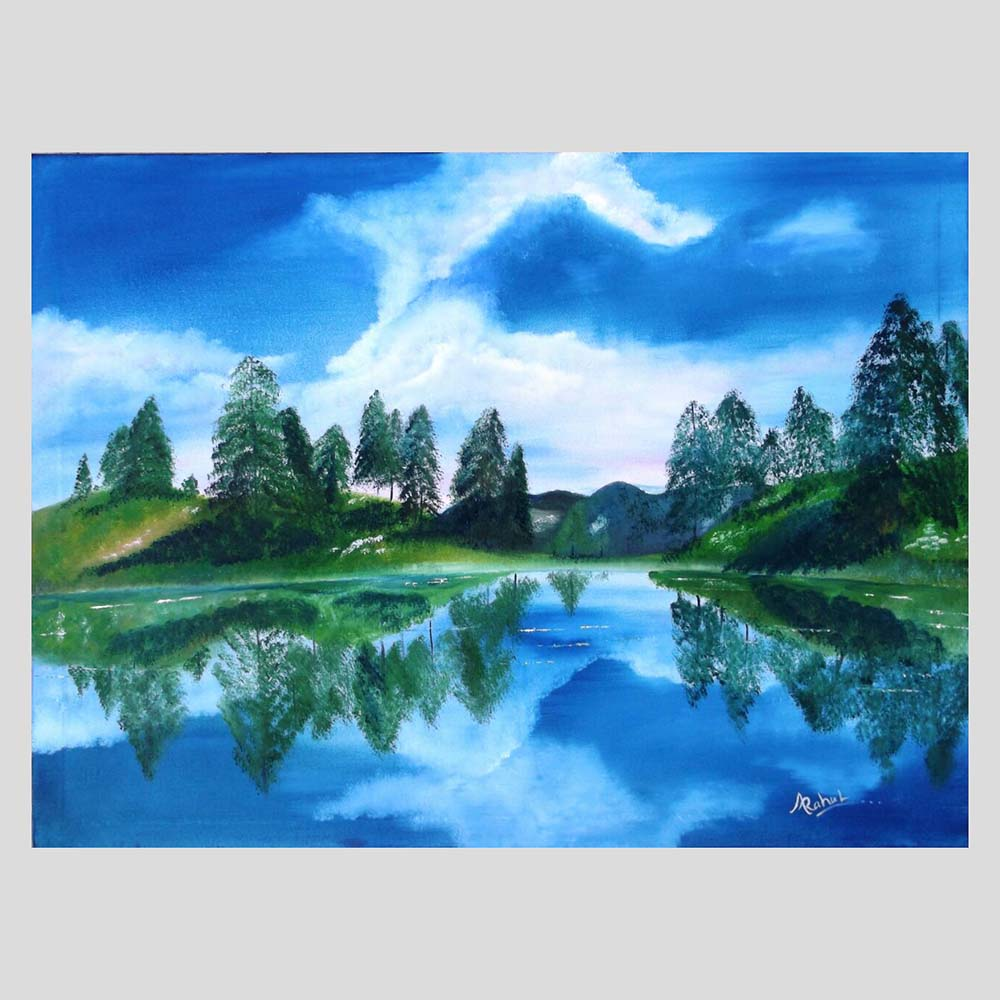 THE HEAVENS SIGHT Wall art Painting