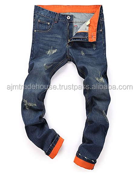 Hot Sale New Style Black Worn-old Skinny Men's Jeans /cheap stretch jeans / mens stretch jeans