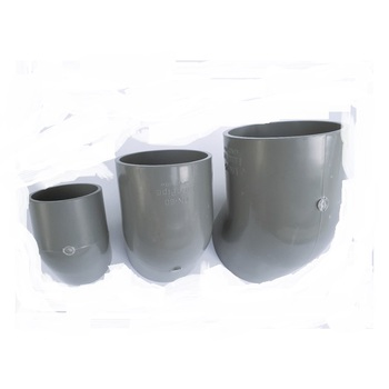 45 degree elbow connector for upvc pipe high pressure pvc fitting