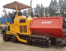 Used Sany 10m Asphalt Paver block finisher machine DTU95C with good condition
